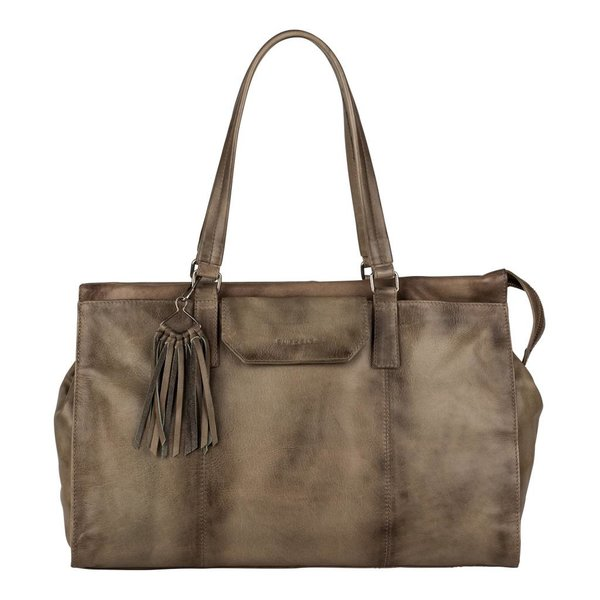 Noble Nova Handbag Big - Taupe