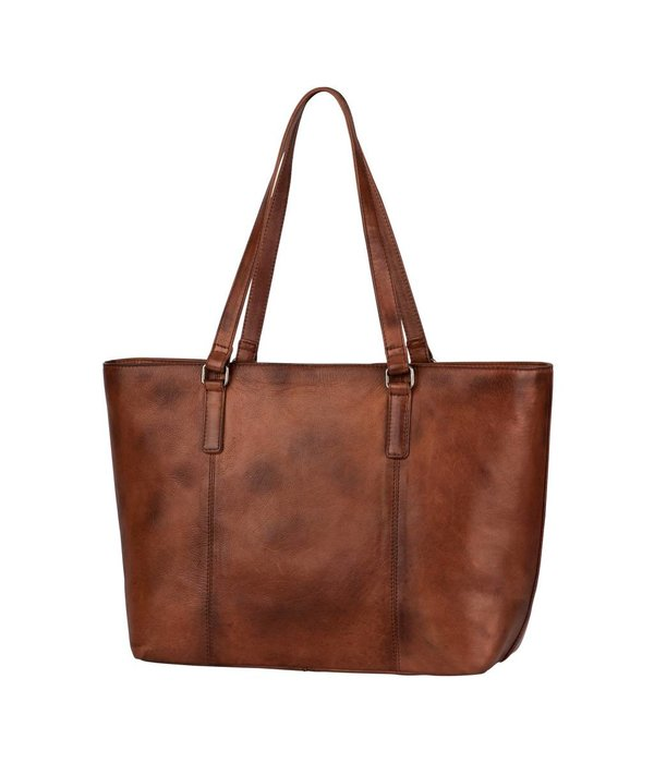 Burkely Noble Nova Wide Shopper - Bruin