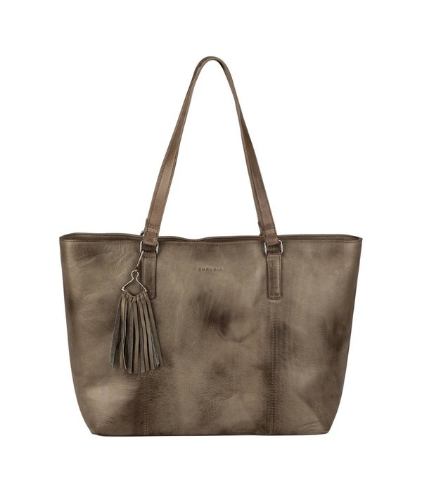 Burkely Noble Nova Wide Shopper - Taupe