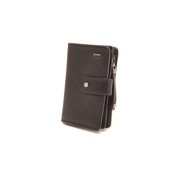 Praktische zwarte portemonnee