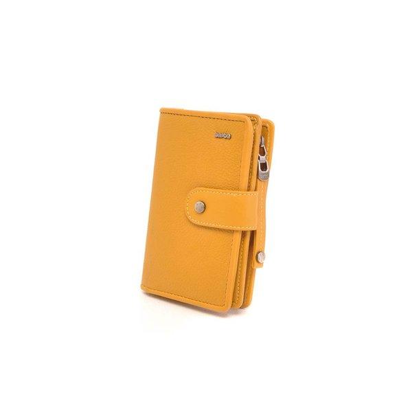 Praktische mustard portemonnee