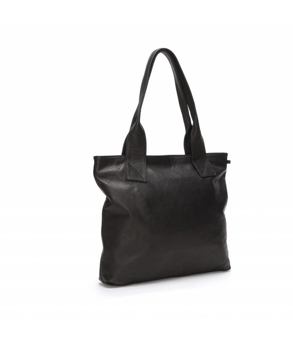 Fabienne Chapot Rocking Shopper Black Leather