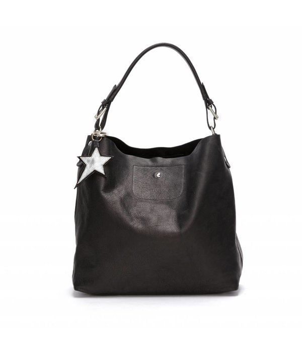 Fabienne Chapot Apple Bag - Cashmere Black