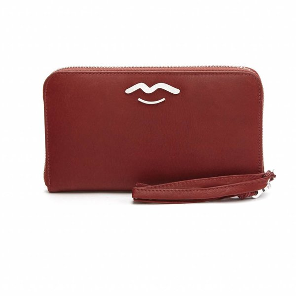 ritsportemonnee Hot Lips Purse rubino