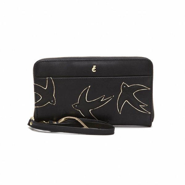 Swallow Purse Zwart