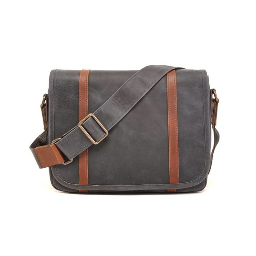 Barbarossa Stoere used-look laptoptas - navy