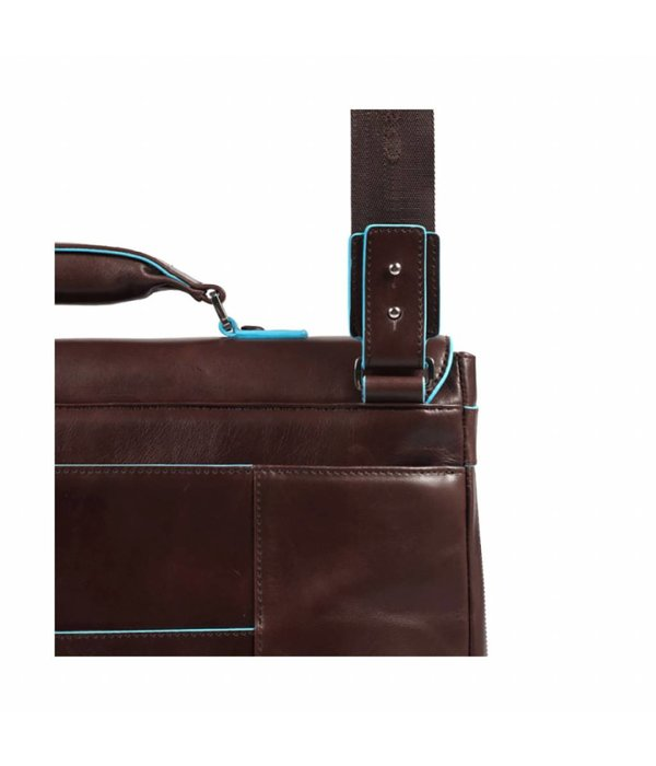 Piquadro Expandable Computer Portfolio Briefcase With iPad/ Bruin