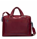 Piquadro laptoptas 15 inch rosso