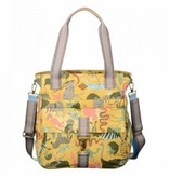 Oilily TAS - Sahara Zoo Shopper Baby Bag - Sunrise