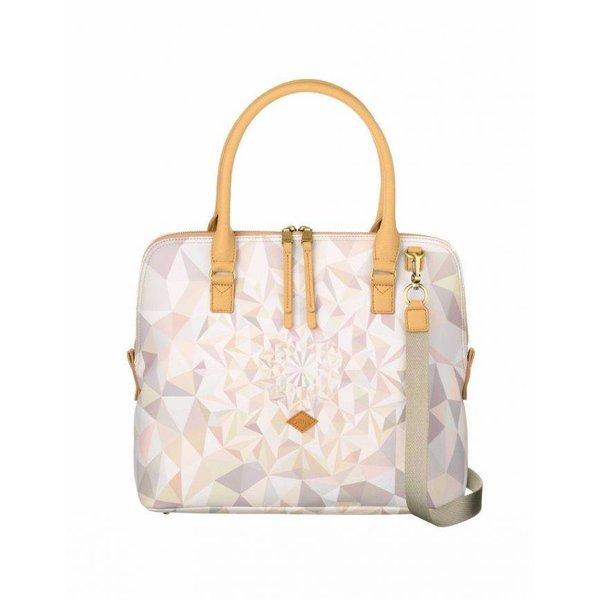 oilily Handbag oes7189–029oyster White Dames handtas Schoudertas