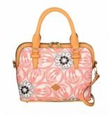 Oilily Flower Swirl S Handbag Pink Flamingo