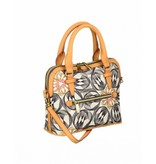 Oilily Flower Swirl S Handbag Charcoal