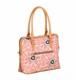 Oilily m Carry All  Dames hengseltas, draagtas, Schoudertas Roze