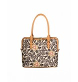Oilily m Carry All Dames hengseltas, draagtas, Schoudertas Charcoal