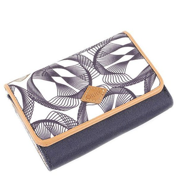 S Wallet Dames Portemonnee Charcoal