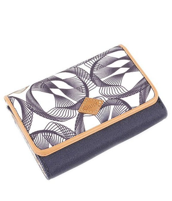 Oilily S Wallet Dames Portemonnee Charcoal