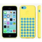Hoesje iphone 5c geel