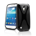 Hoesje Samsung mini S4 zwart soft
