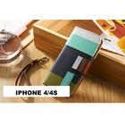 Hoesje iphone 4/4s kleur