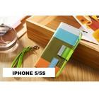 Hoesje iphone 5/5s kleur