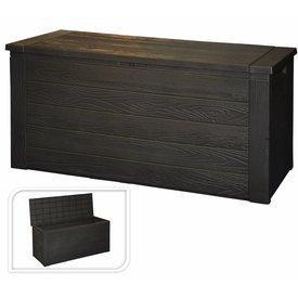 PurGarten Kissenbox Schweden braun 300 L