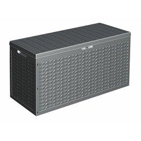 PurGarten Kissenbox Stockholm schwarz 320 XL