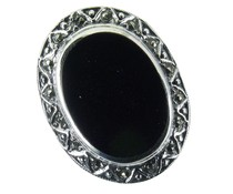 Silber mit Markasiten MOP gr 54  8307