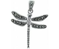 Silberanhänger mit Markasiten