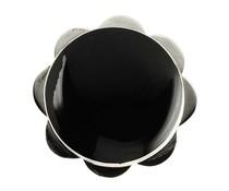 Silberring MOP/Onyx 1542 34mm