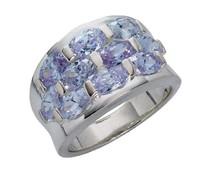 Silberring 3928 CZ flieder violett 14mm