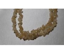 Steinkette Splitterkette Bergkristall 41405