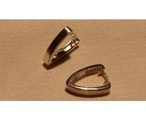 Ohrringe Creolen Silber 4mm  W5755