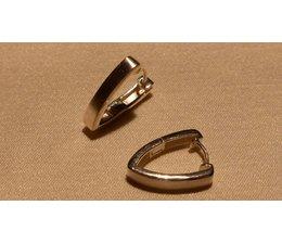 Ohrringe Creolen Silber 4 mm W5755