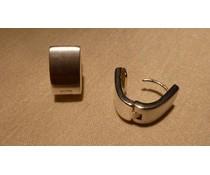 Ohrringe Creolen Silber 9 mm W5756