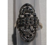 Ring Silber Markasit P11029