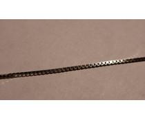 Veneziakette Silber 925 tlw.  rhod. W5923