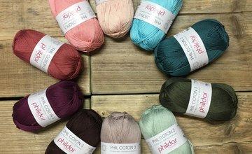 Nieuwe kleuren Phil Coton serie