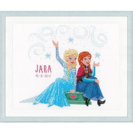 Vervaco Borduurpakket Frozen Sisters Forever