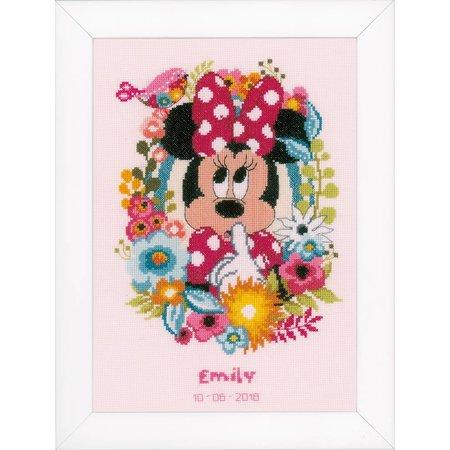 Vervaco Borduurpakket Minnie Mouse ssscht