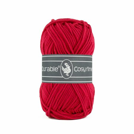 Durable Cosy Fine Deep Red (317)