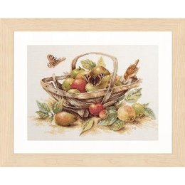 Lanarte Borduurpakket Marjolein Bastin mand met appels