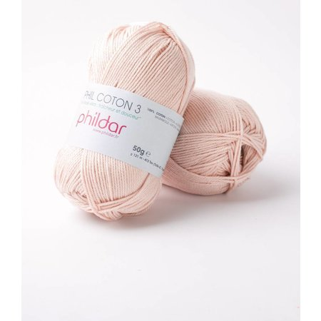 Phildar Phil Coton 3 Lait de Rose (92)