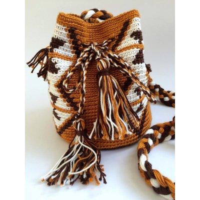 de ligny creations Mochila mini bag mocca