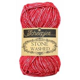 Scheepjes Stone Washed Red Jasper (807)