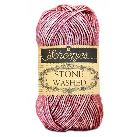 Scheepjes Stone Washed Corundum Ruby (808)