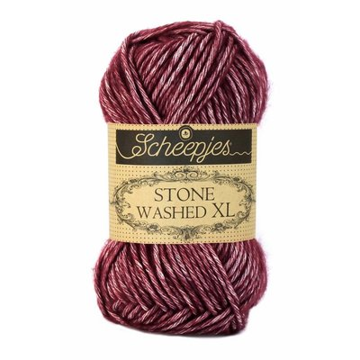 Scheepjes Stone Washed XL Garnet (850)