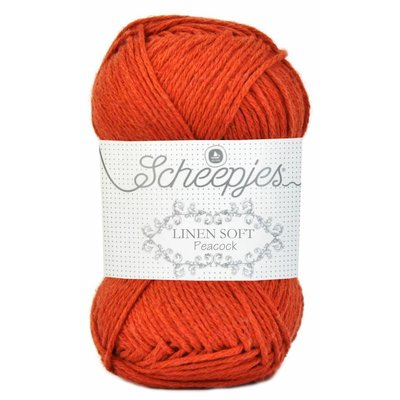 Scheepjes Linen Soft oranje (609)