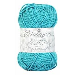 Scheepjes Linen Soft turquoise (614)