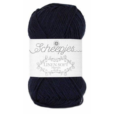Scheepjes Linen Soft donkerblauw (621)