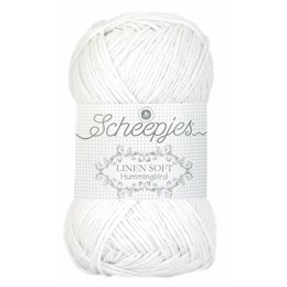 Scheepjes Linen Soft wit (630)